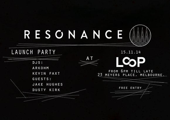 Resonance launch flyer Loop- Meyers Place