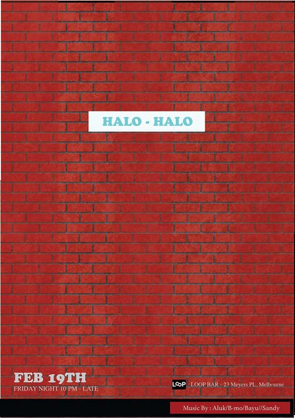 Halo Halo Loop- Meyers Place