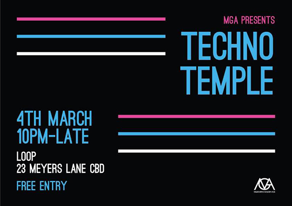Techno Temple 2 Loop- Meyers Place