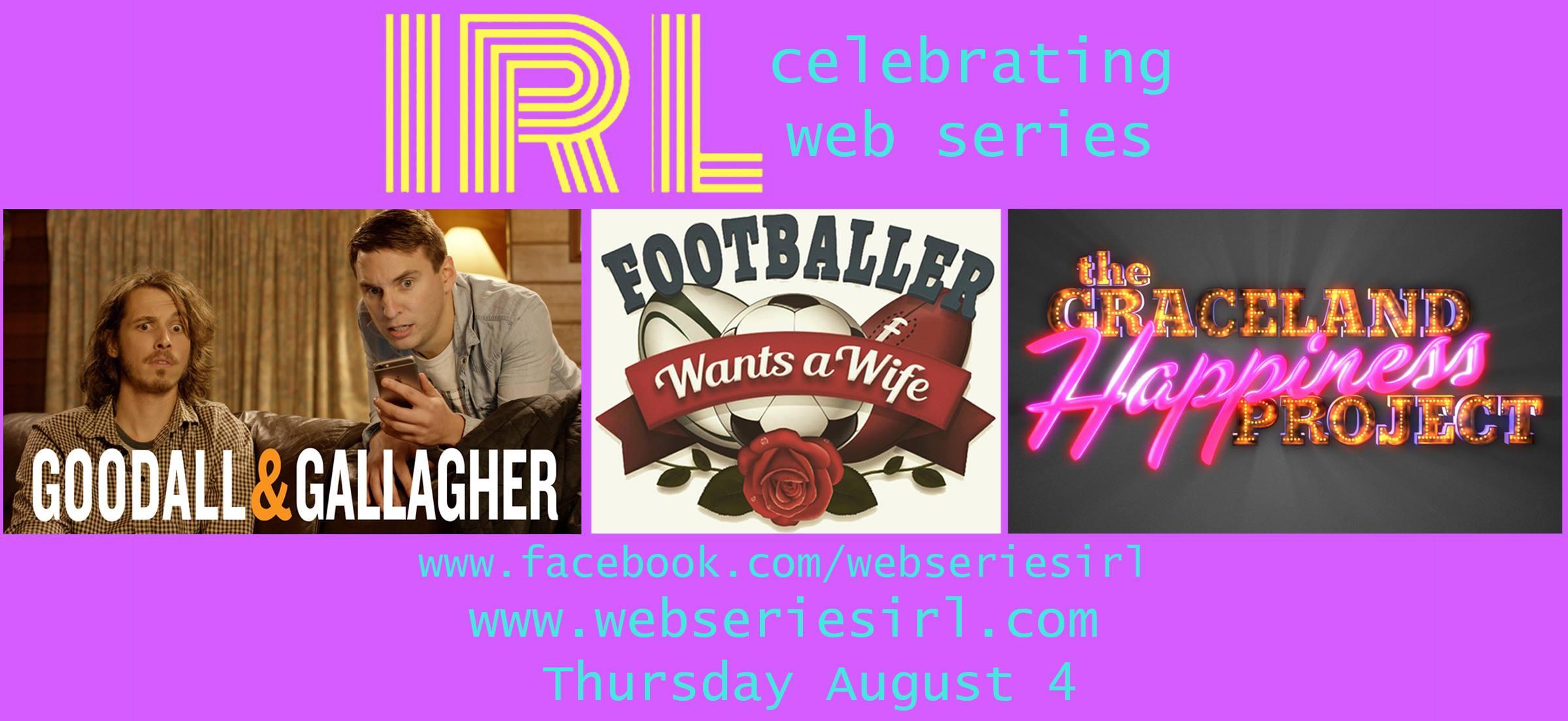 IRL Web Series Meet Up Aug Loop-Meyers Place
