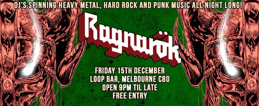 Ragnarök- Metal / Alternative Nightclub (December Edition)