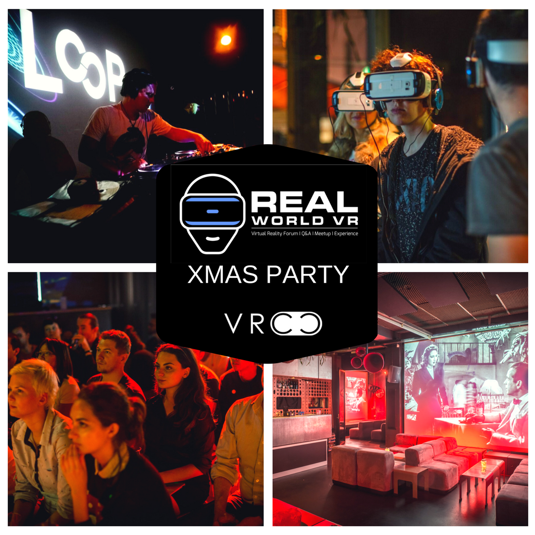 Real World VR Loop Project Space & Bar XMAS Party