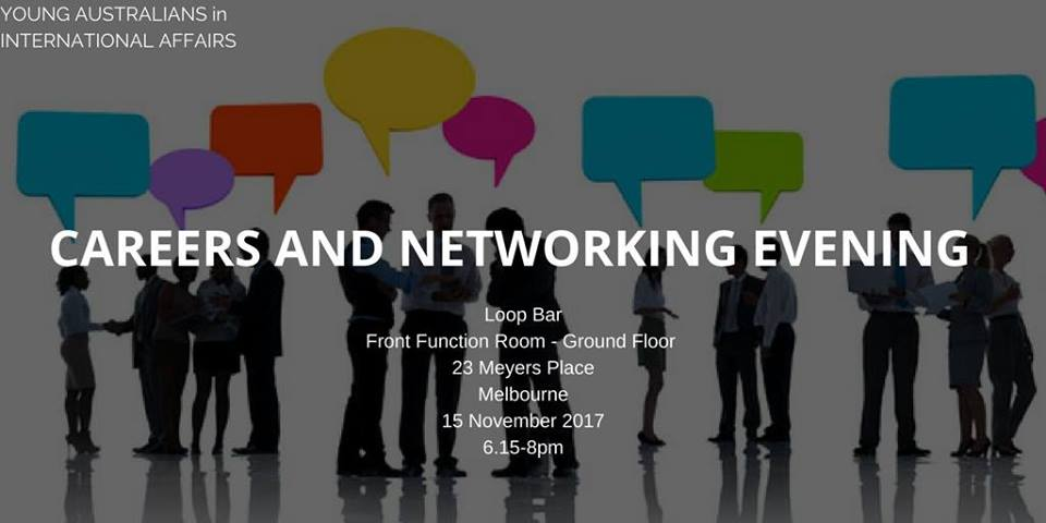 Melbourne Careers and Networking Evening