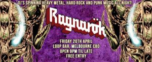 Ragnarok Melbourne Bar Heavy Metal Club