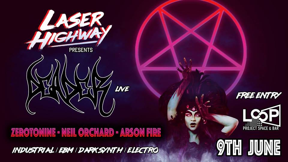 laser highway loop project space and bar melbourne