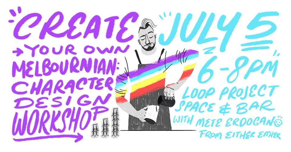 Create your own Melbournian: Character Design Workshop