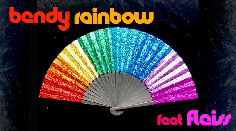 bendy rainbow disco nightclub LOOP