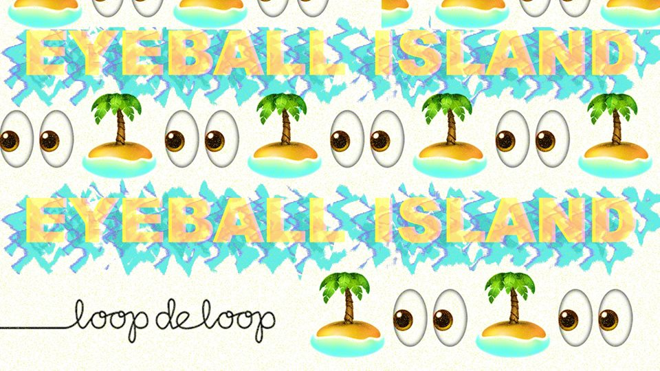 LOOPDELOOP eyeball island at LOOP Melbourne Bars
