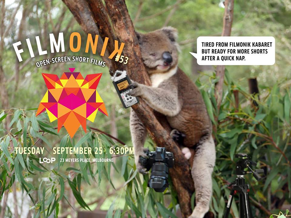 filmonik short films at LOOP Melbourne