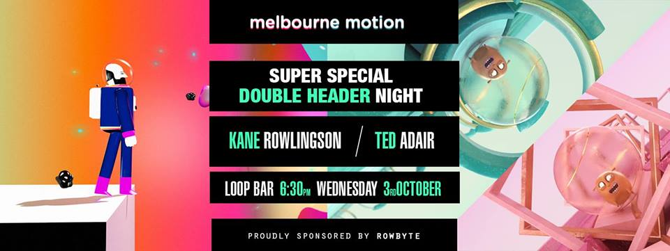 melbourne-motion Kane Rowlingson / Ted Adair - double header night