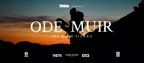 Film screening 'Ode To Muir' - a film by Teton Gravity Research