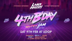 laser-highway-synth-wave-disco-pop-loop-project-space-bar-melbourne-venues