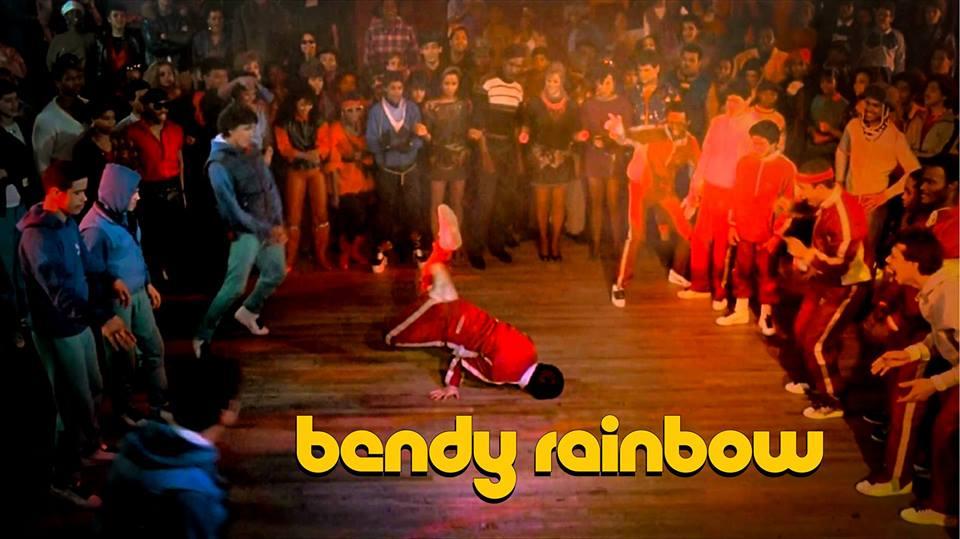 bendy rainbow disco LOOP