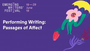 Performing Writing: Passages of Affect