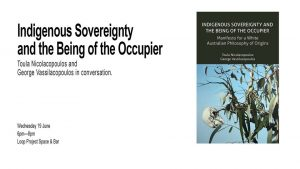 Indigenous Sovereignty and the Being of the Occupier