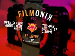 Filmonik #62 BYO-Short-Film screening