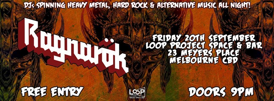 Ragnarök - Metal / Alternative Nightclub (September Edition)