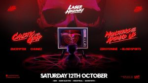 Laser Highway feat. Caustic Grip & Monsters Around Us (QLD)