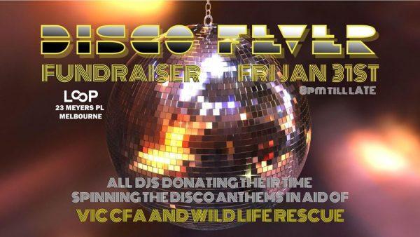 Disco Fever Bush Fire Fundraiser
