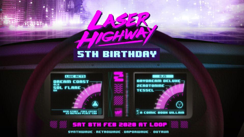 Laser Highway's Fifth Birthday!