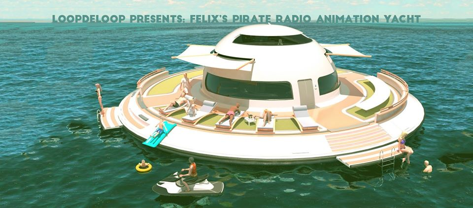 felix's pirate radio animation