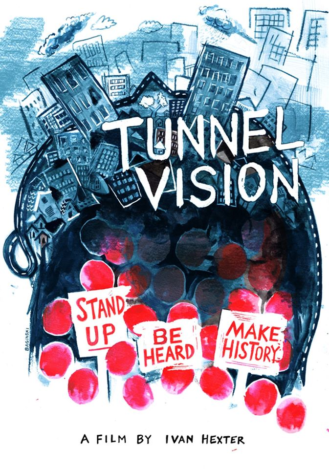 Tunnel Vision documentary screening, Loop Project Space Melbourne.