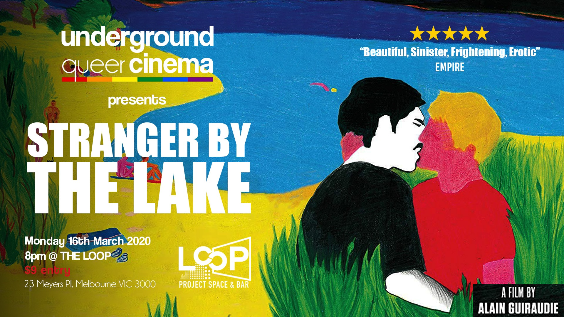 Underground Queer Cinema presents Stranger by the Lake
