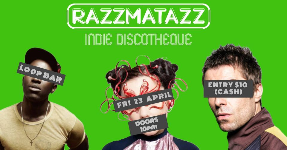 Razzamatazz-Indie-Disco-LOOP--Melbourne-Venue